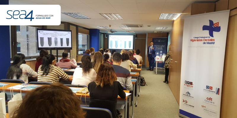 """Sea4 ha patrocinado el curso: """"La cicatrización del implante post-extracción: nuevas tendencias"""", en el Colegio de Higienistas de Madrid."""